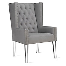 Logan Wing Chair - Acrylic
