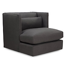 Pierce Swivel Chair - Charcoal