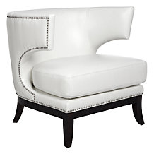 Enzo Accent Chair - White