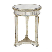 Borghese Mirrored End Table