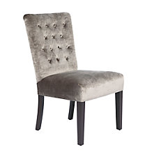 Lola Side Chair - Pewter Gold