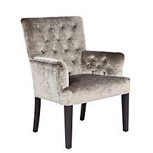 Lola Arm Chair - Pewter Gold
