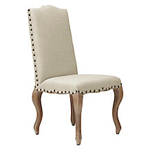 Florette Side Chair - Washed Oak Legs