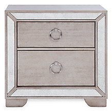 Ava 2 Drawer Nightstand