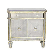 Borghese Mirrored Side Chest