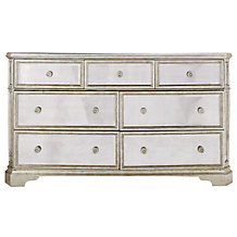 Borghese Mirrored 7 Drawer Chest
