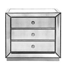 Omni Mirrored 3 Drawer Chest