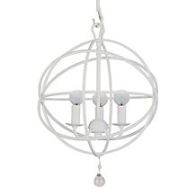 Eclipse Chandelier - 12W - White