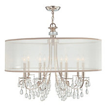 Quinn Chandelier - 32W - Chrome