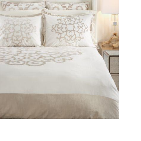 amora bedding - ivory | jan bedding | bedroom inspiration