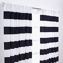 Capri Panels - Black and Ivory