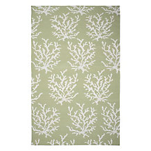 Sea Coral Dhurrie Rug - Mint