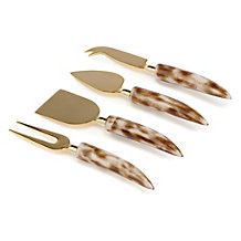 Lynx Cheese Knives - Set of 4