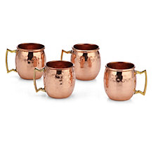 Copper Mule Shot Glass - Set of 4