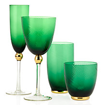 Emerald Glassware - Sets of 4