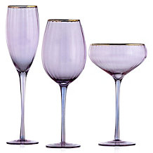 Ophelia Glassware - Sets of 4