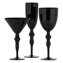 Onyx Stemware - Sets of 4