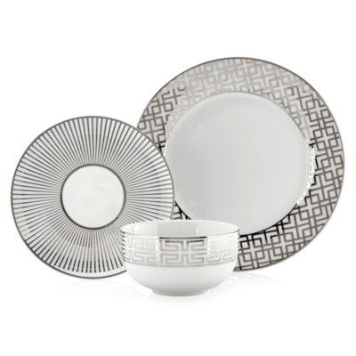 soiree dinnerware sets of 4 - Modern Dinnerware