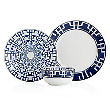 Meandros Dinnerware - Set of 4