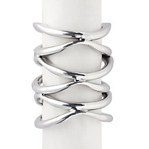 Gia Napkin Ring - Set of 4