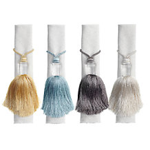 Tassel Napkin Ring - Set of 4