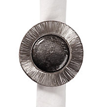 Clement Napkin Ring - Set of 4