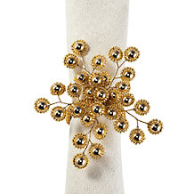 Firethorn Napkin Ring - Set of 4