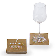 Alcohol Story Beverage Napkin