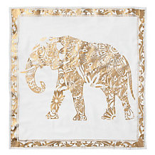 Elephant Napkin - Set of 4