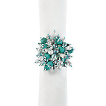 Jewel Cluster Napkin Ring - Set ...