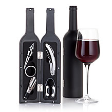 Sommelier 5-PC Wine Bottle Set