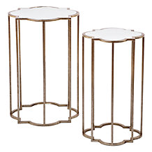 Quatrefoil Tables - Set of 2