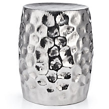 Arden Hammered Stool