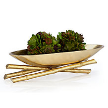 Golden Bamboo Bowl