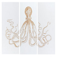 Octopus Panel - Set of 3