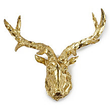 Faux Deer Scultpure