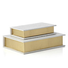 Gia Book Box - Set of 2