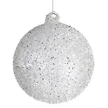 Ice Globe Ornament