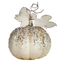 Beaded Pumpkins & Gourds