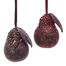 Pear Ornament
