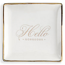 Hello Gorgeous Trinket Tray