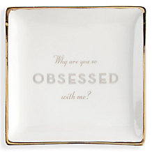Obsessed Trinket Tray