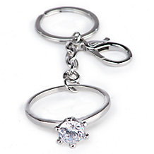 Diamond Ring Keychain
