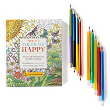 Color Me Happy Coloring Kit