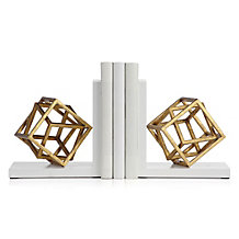 Cubed Bookends - Set of 2