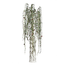 Sequin Hanging Pine Spray - Set of 3