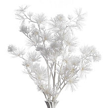 Pine Glitter Branch - Set of 3