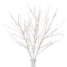 LED Snow Branch