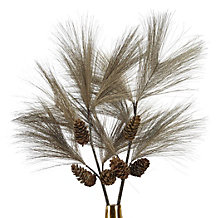 Large Needle Pine Spray - Set of 3