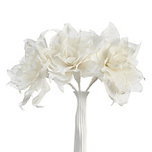 Madeleine Linen Flower - Set of 3